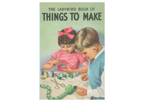 Ladybird Notebook -  Things to Make