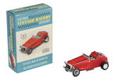 Make Your Own Wind Up Vintage Racing Car