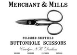 Merchant and Mills Buttonhole Scissors