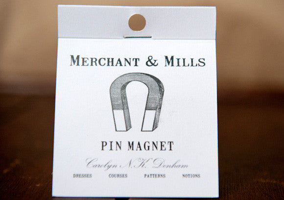 Merchant and Mills Pin Magnet