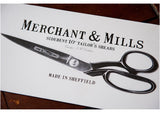Merchant and Mills Tailor's Scissors Sheffield
