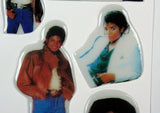 Vintage Michael Jackson Puffy Stickers Set