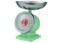 Mint Green Retro Kitchen Scales