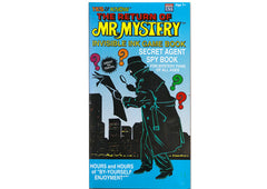 Mr. Mystery Invisible Ink Game Book