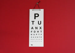 Medical Eye Chart (Small)