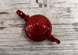 Enamel Tea Pot - Small Red