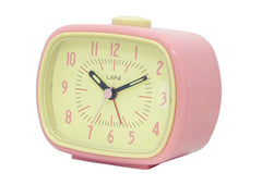 Retro Alarm Clock - Pink