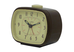 Retro Alarm Clock - Brown
