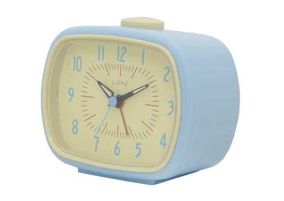 Retro Alarm Clock - Blue