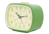 Retro Alarm Clock - Green