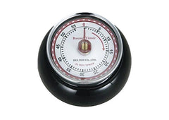Retro Magnetic Kitchen Timer - Black