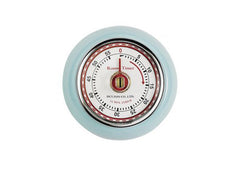Retro Magnetic Kitchen Timer - Sax Blue