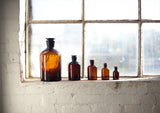 Science Apothecary Jars - Amber