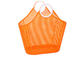 Sun Jellies Fiesta Shopper Basket - Large Orange