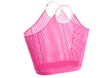 Sun Jellies Fiesta Shopper Basket - Large Hot Pink