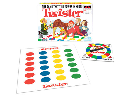 Classic Twister Game 1960 S Version Vintage And Nostalgia Co