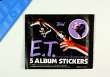 Vintage E.T. The Extra-Terrestrial Album Sticker Set