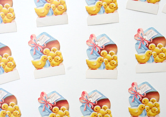 Vintage happy easter card gift tag vintage and nostalgia co vintage happy easter card gift tag negle Gallery