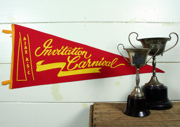 Vintage Invitation Carnival Pennants