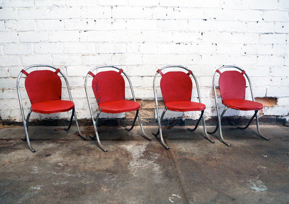 Vintage Kids Chair - Set of 4