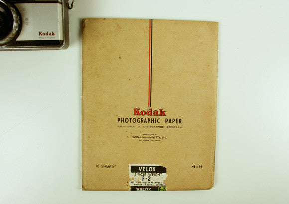 Vintage Kodak Photographic Paper Packs