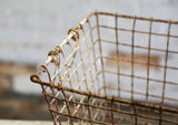 Vintage Metal Wire Basket