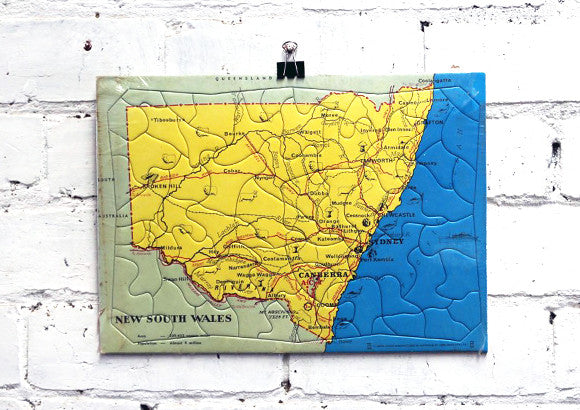 Vintage New South Wales Jigsaw Puzzle