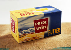 Vintage Pride of the West Butter Box