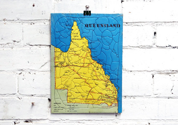 Vintage Queensland Jigsaw Puzzle