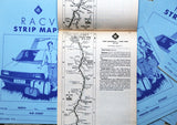 Vintage RACV Strip Map