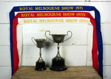Vintage Royal Melbourne Show Pennants
