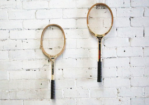 Vintage Wooden Tennis Racquets