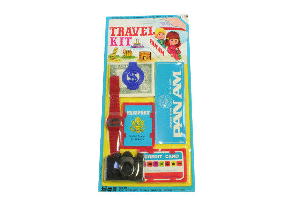 Vintage Pan Am Toy Travel Kit