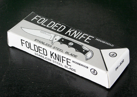 Vintage Folded Knife Box