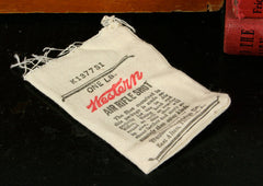Vintage Western Air Rifle Shot Bag