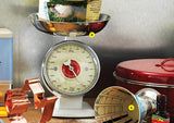 White Retro Kitchen Scales