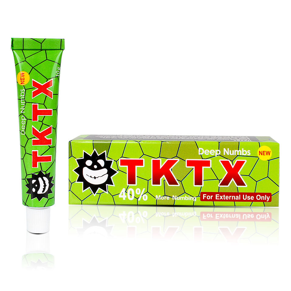 Original TKTX 38% 39% 40% Tattoo Numbing Cream Lidocaine Anesthetic ...