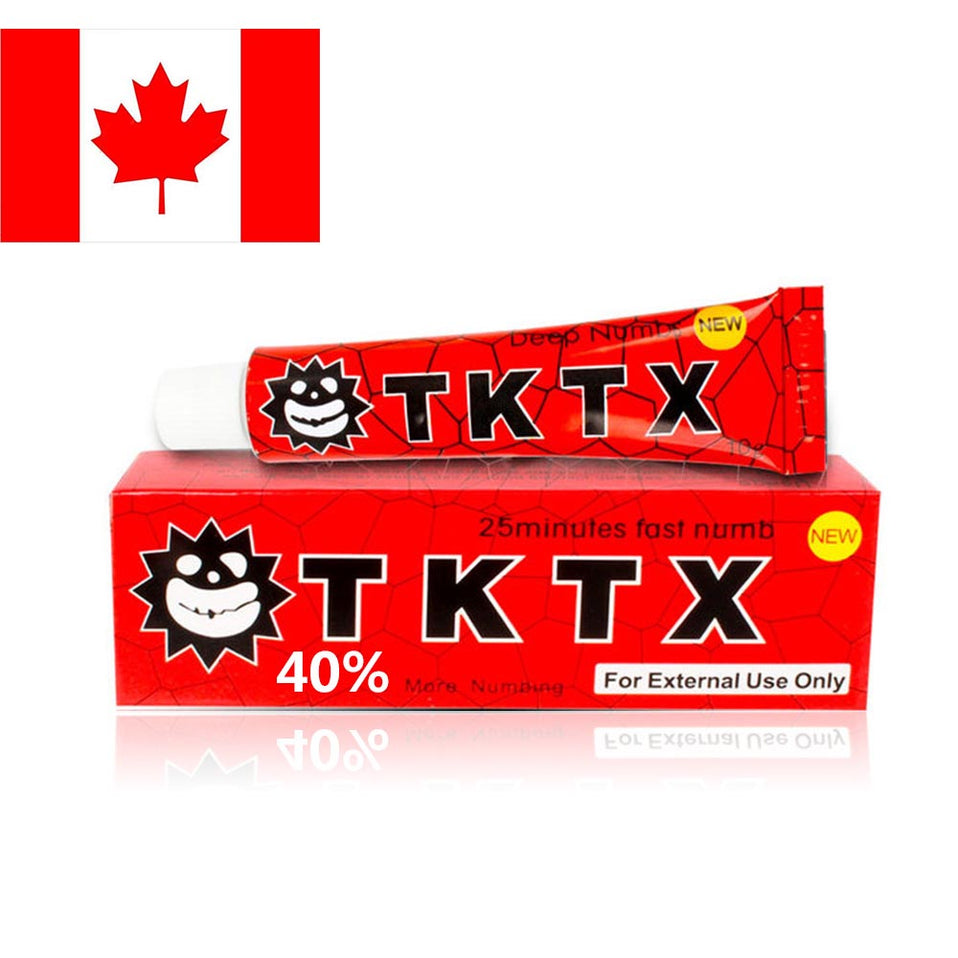 TKTX 38% Red Tattoo Numbing Cream Lidocaine Anesthetic Cream for ...