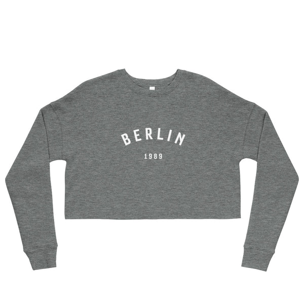Berlin '89 – Crop Sweatshirt
