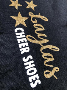 Personalised Cheer Shoe Bags