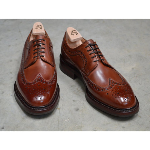 Brand New Alfred Sargent Shoreditch Longwing Shoe And