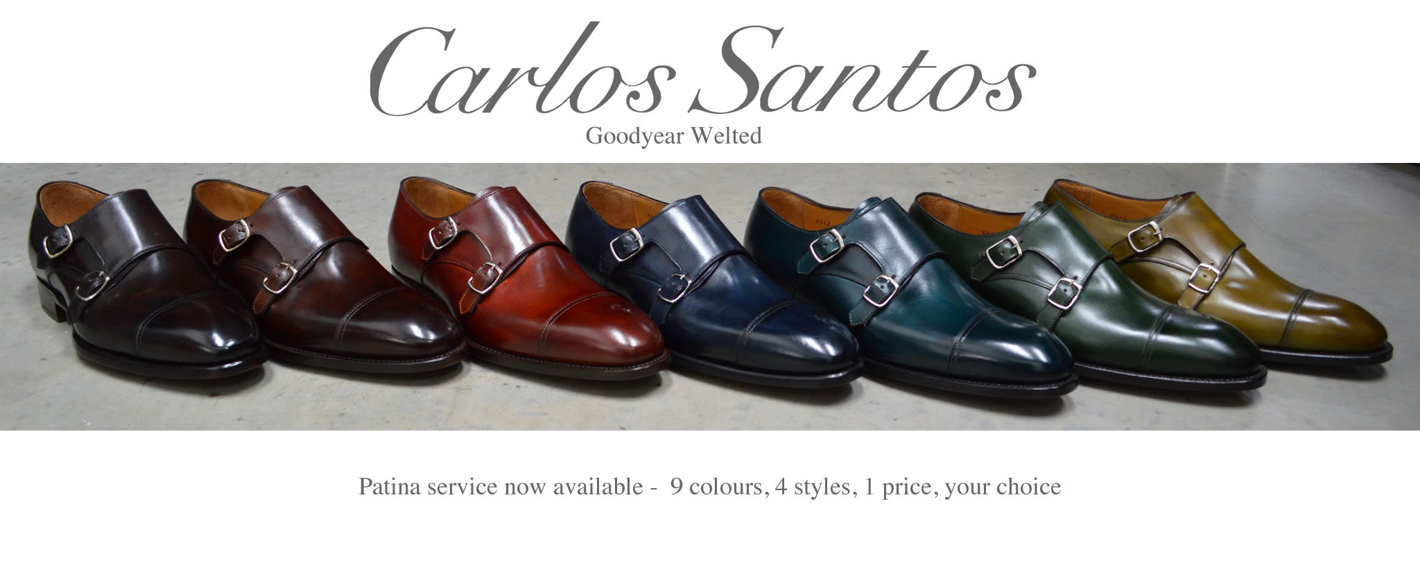 Carlos Santos - A Fine Pair of Shoes