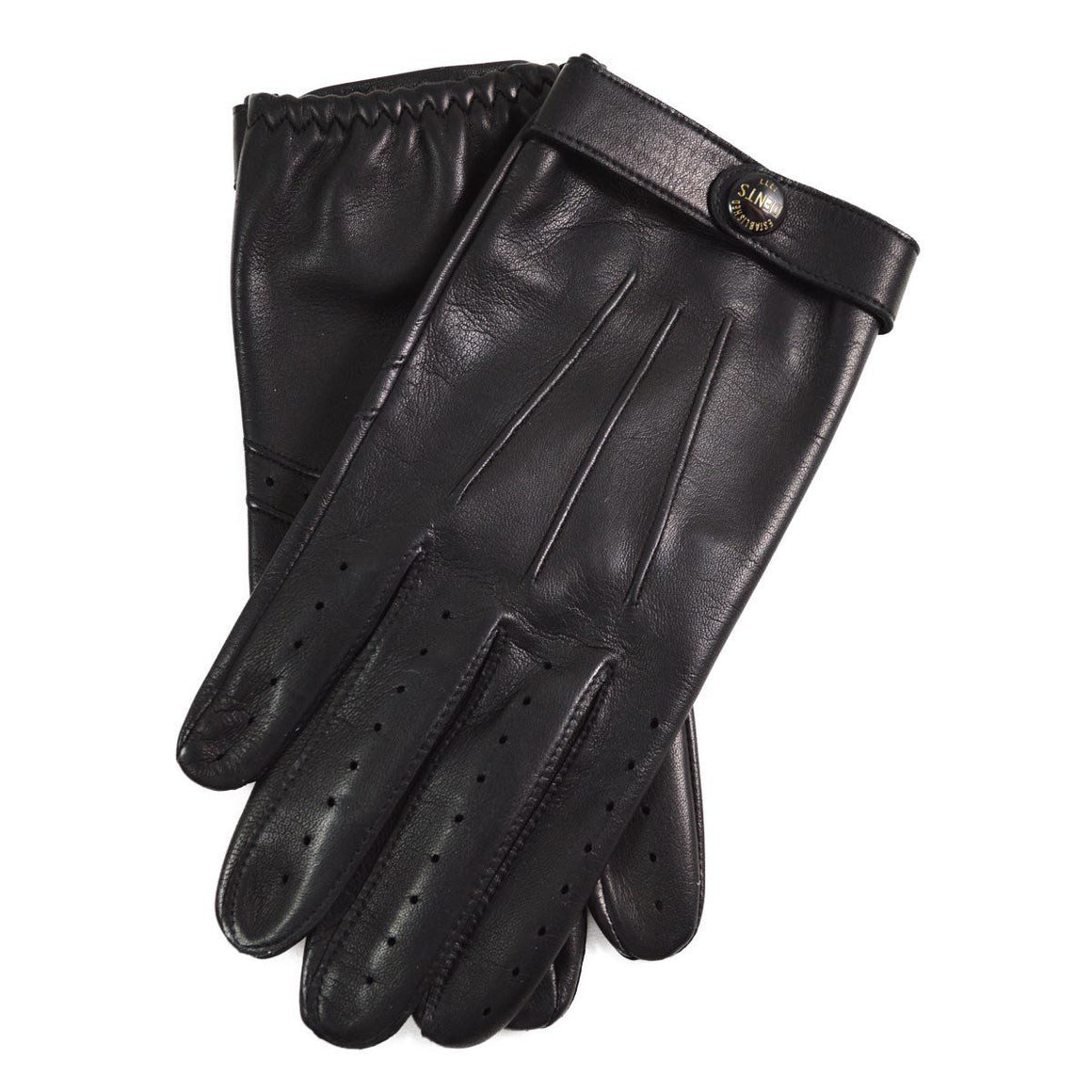 DENTS FLEMING Bond 007 Spectre Leather Driving Gloves