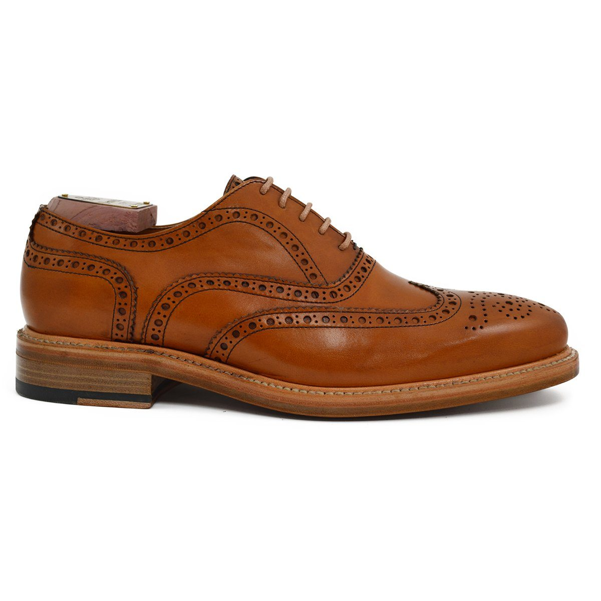 Berwick 1707 Brogue (2817) - Tan Calf - A Fine Pair of Shoes - English  Handmade Shoes and Brogues Online 9ef15421a1