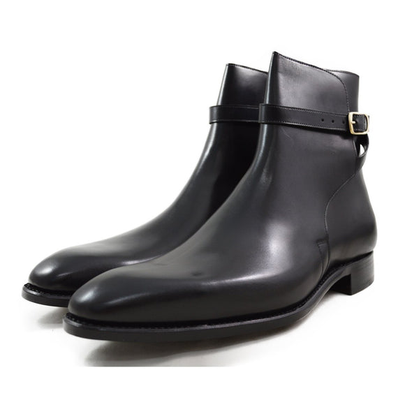 Carlos Santos Jodphur Boot in Black Patina - 10.5F