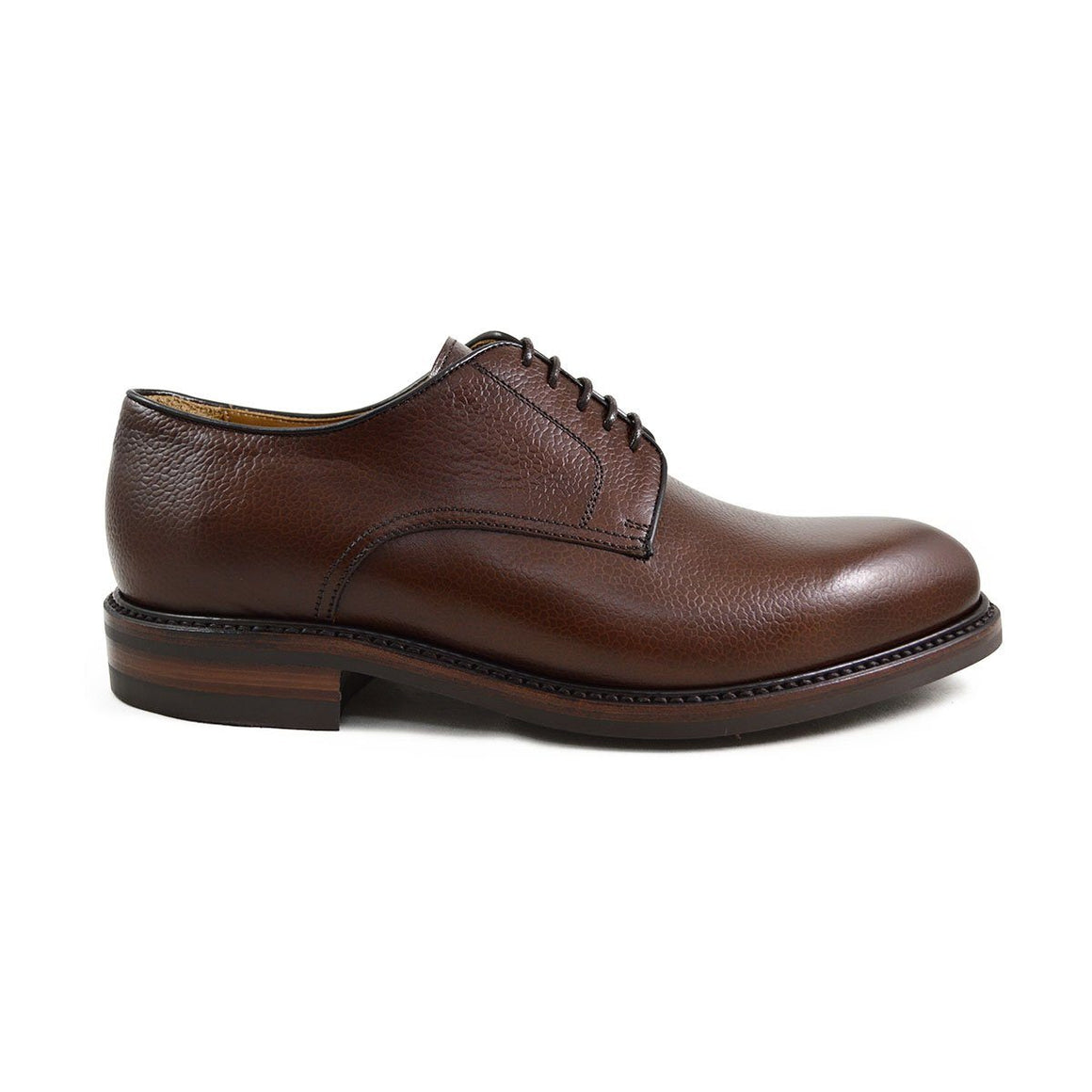 Berwick 1707 Country Grain Plain Derby Shoe