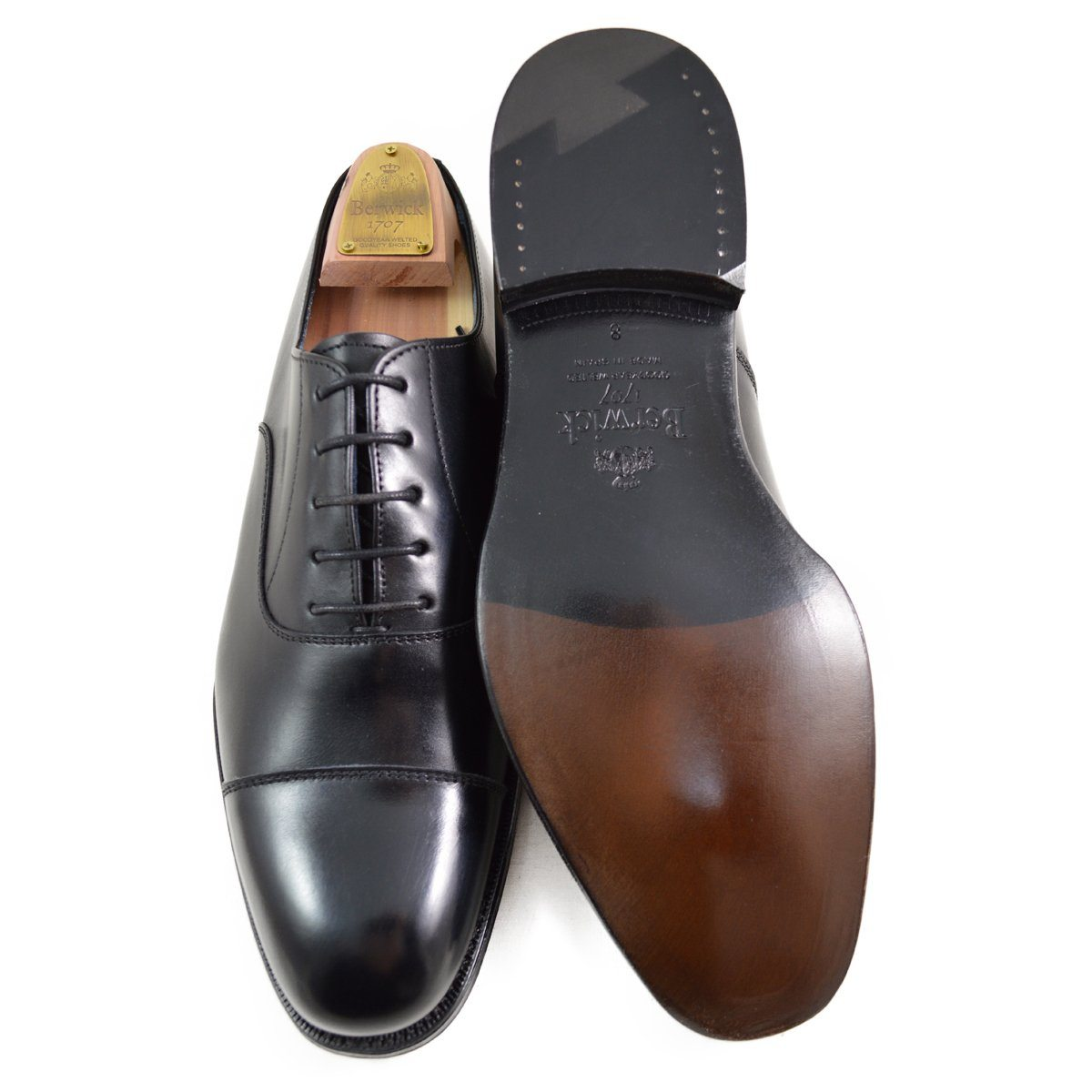 Berwick 1707 Oxford (6824) - Black Boxcalf - A Fine Pair of Shoes ... b8f911e219