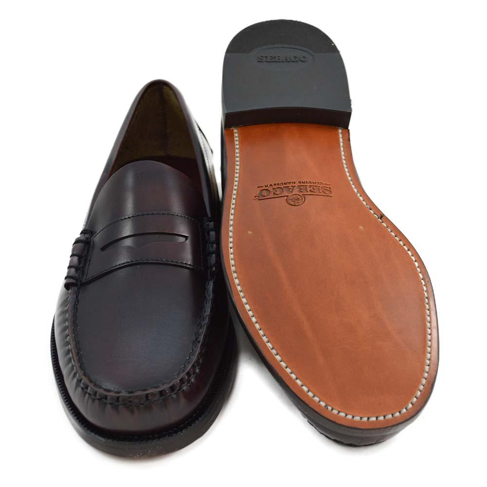 ba2a752399 Sebago Classic Dan Penny Loafer - Burgundy - A Fine Pair of Shoes ...