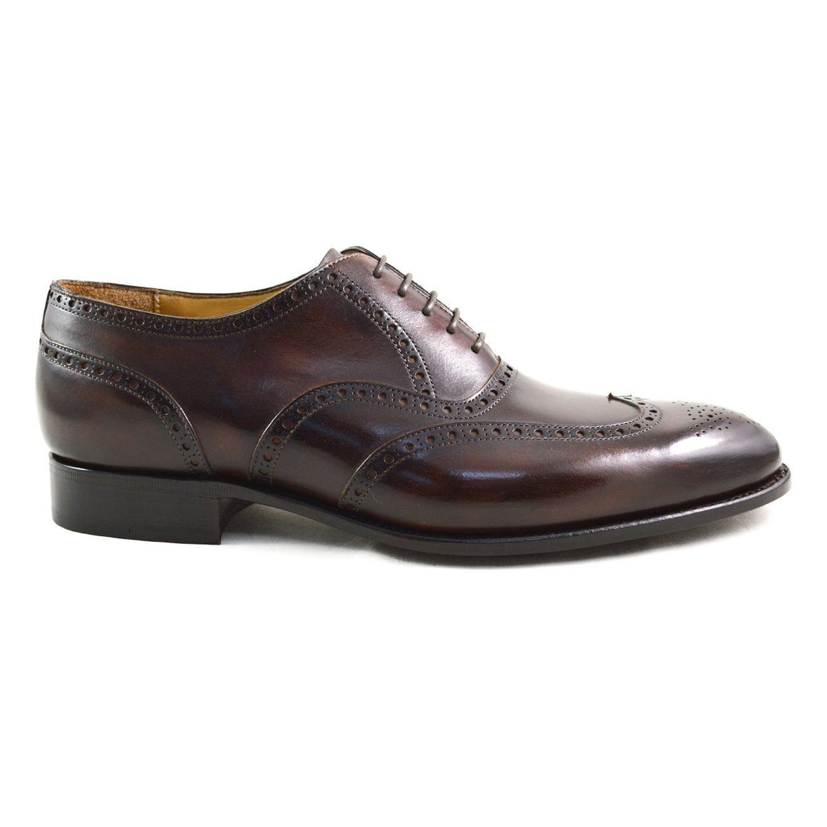 Carlos Santos Wingtip Brogue in Guimaraes Patina