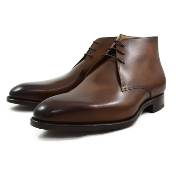 Carlos Santos Chukka Boot in Algarve Patina - 7.5F & 9F